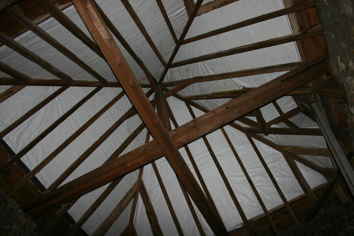 Relined Roof
